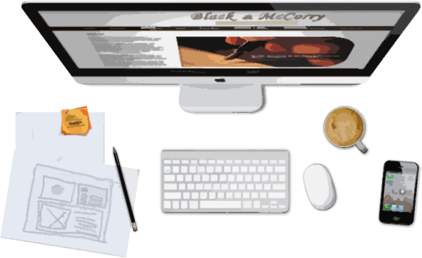 Web Designer's desk