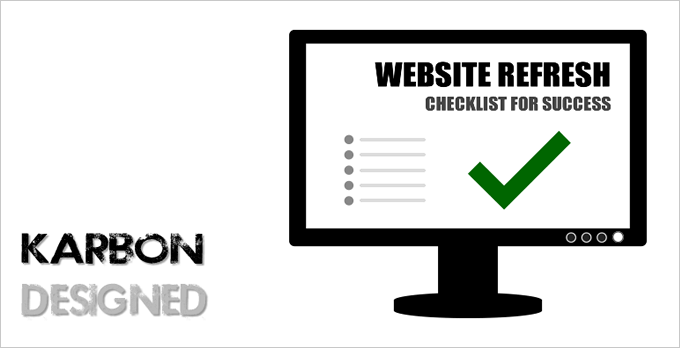 Website refresh checklist for success